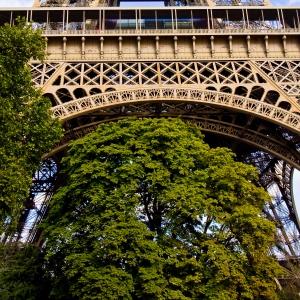 Tour Eiffel en automne