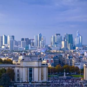 La Défense vue de la Tour Eiffel
